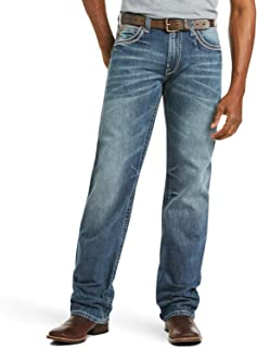 M4 Low Rise Boot Cut Jeans – Men's Relaxed Fit Denim