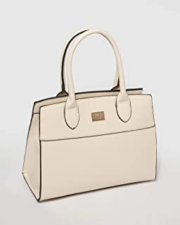 Ivory Kennedy Structured Tote Bag
