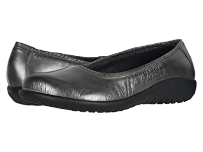 Naot Taupo (Crinkle Steel Leather) Women