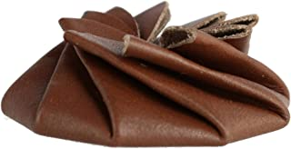 CTM Leather Squeeze Coin Pouch