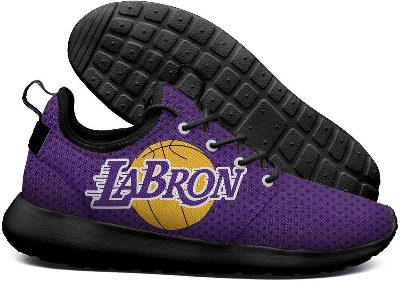 Womens Roshe Two Lightweight La_Bron_Yellow_Logo_Basketball Breathable Cross-Trainer mesh shoes