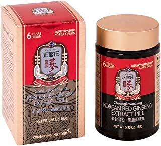KGC Cheong Kwan Jang [Korean Panax Red Ginseng Extract 800 Pills] Extra Strength & Energy, Performance Mental Health Suppo...