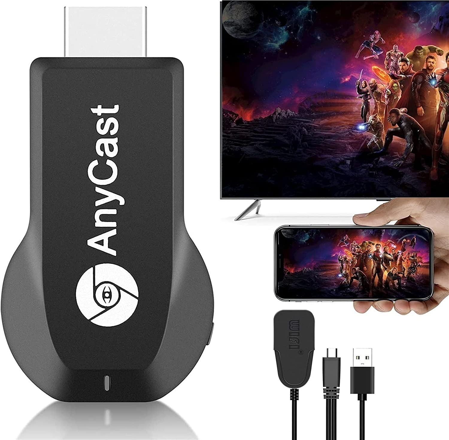 Streaming Media Ranking TOP4 Ranking integrated 1st place Players Wireless HDMI Adapter Ultra H Display 4K