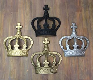 king and queen crown wall decor