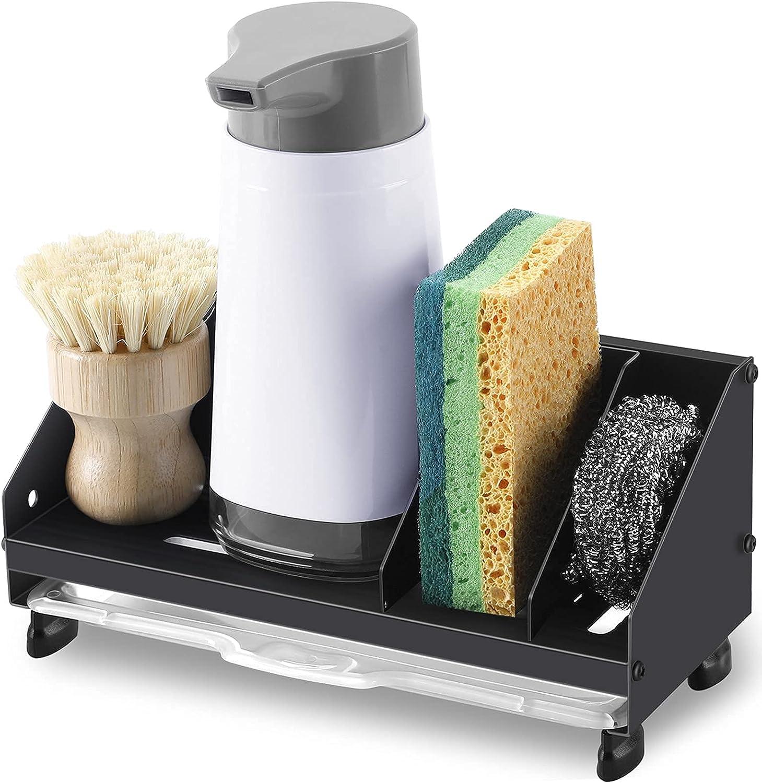 Kitchen Sink Caddy Financial sales sale Regular discount Organizer NeverRust Soap Dish Holder Sponge