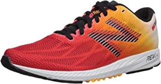 New Balance Men's 1400v6 Shoes, White/Orange