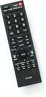 Generic Remote Control CT-90325 fit for Toshiba 55S41U 32E200U 32C100U1/2 32DT1U 55HT1 55G310U TV