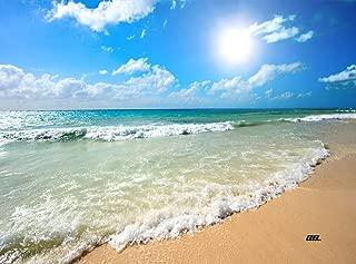 Coastal Shoreline Waves Sandy Beach Kitchen Glass Cutting Board Ocean Decorative Gift