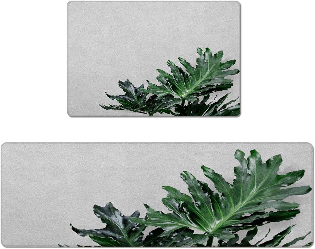 SODIKA 2 Pieces Anti Fatigue Mesa Mall Kitchen Waterpr trust Floor Mats Non Slip