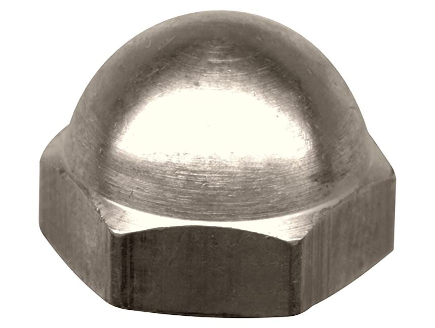 Crown Bolt 50064#10-24 Chrome Coarse Thread Cap Nuts, 3-Count