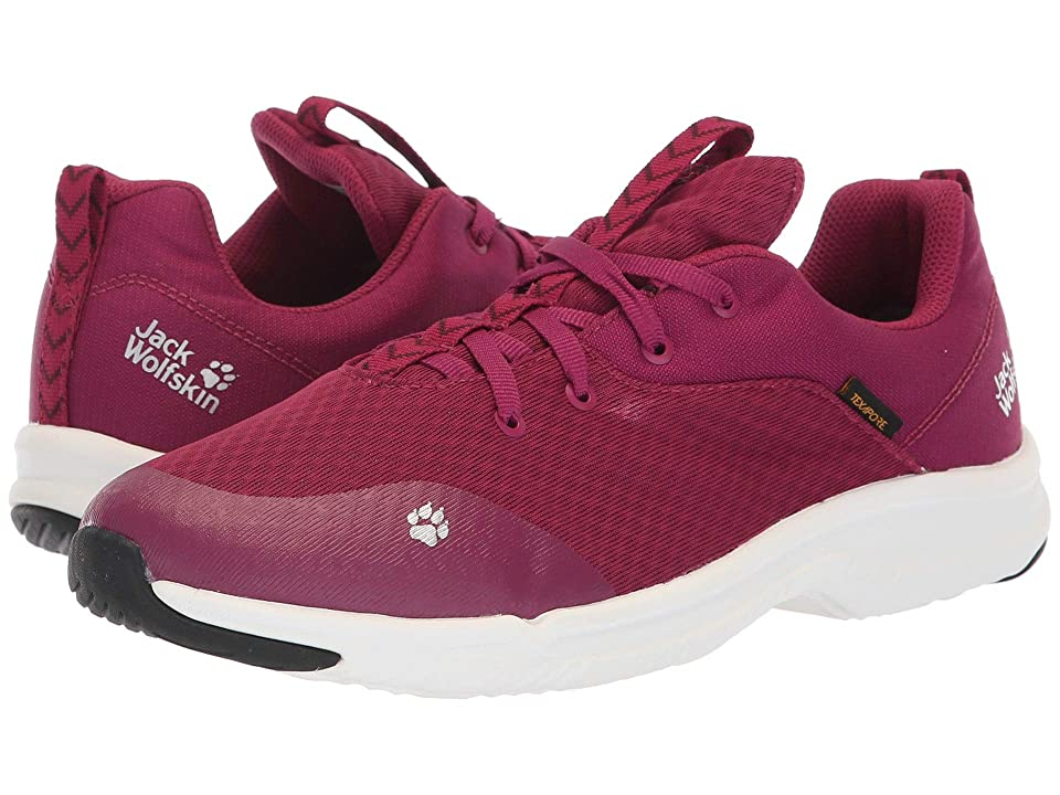 Jack Wolfskin Kids Phoenix Texapore Low (Toddler/Little Kid/Big Kid) (Amethyst) Girls Shoes