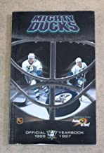 ANAHEIM MIGHTY DUCKS NHL HOCKEY MEDIA GUIDE - 1996 1997 - NEAR MINT