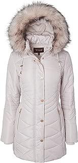 Best pink winter coat with fur hood Reviews