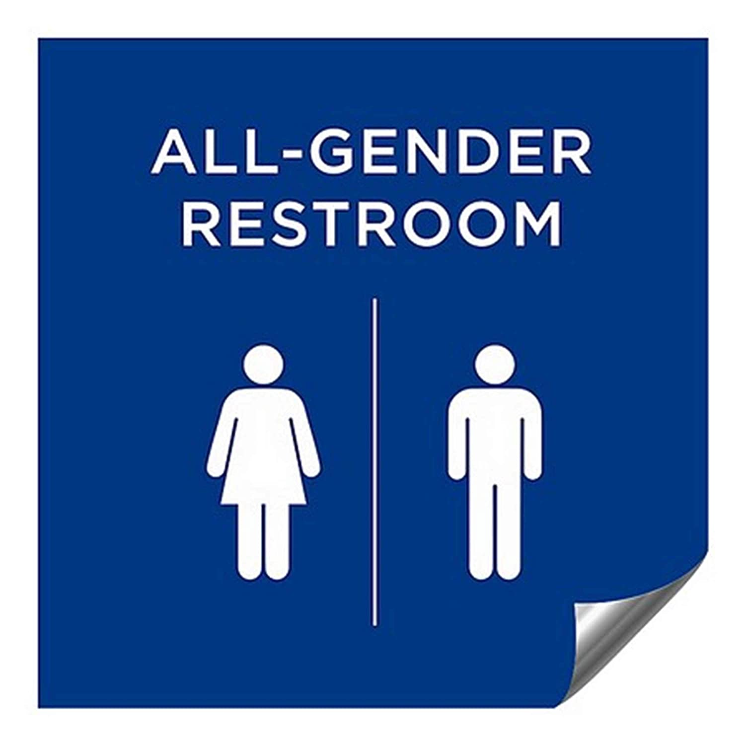 CGSignLab 2439178_5gfxa_24x24_None OFFicial shop All-Gender Price reduction Restroom Sign in B