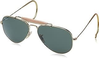 Ray-Ban RB3030 Outdoorsman I Aviator Sunglasses