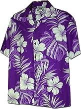 Monstera Leaf Hibiscus Floral Men's Hawaiian Shirt