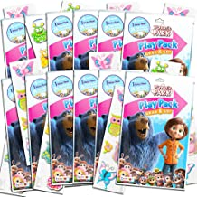 Wonder Park Party Favors Pack ~ Bundle of 12 Wonder Park Play Packs Filled with Stickers, Coloring Books, Crayons with Bonus Stickers (Wonder Park Party Supplies)