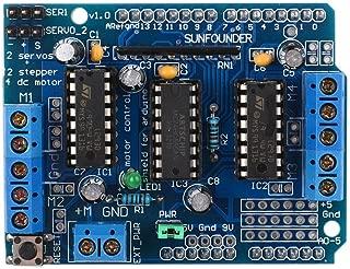 SunFouder L293D Motor Drive Shield for Arduino Duemilanove Mega UNO R3 AVR ATMEL