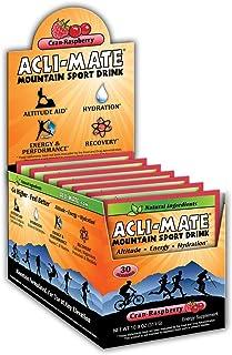 Acli-Mate Mountain Sport Drink - Altitude Sickness Hydration Aid - Cran Raspberry Carton