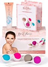 Kegel Balls for Beginners and Advanced – Kegel Weights – Doctor Recommended for Bladder Control & Pelvic Floor Recovery Exercises – Premium Silicone Ben Wa Keigal Ball Weighted Kit for Women