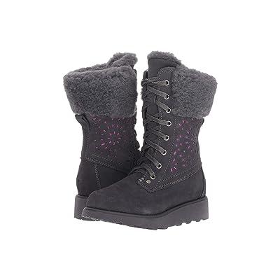 Bearpaw Kids Kylie (Little Kid/Big Kid) (Charcoal) Girls Shoes