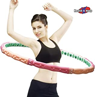 Health Hoop - Weight Loss Health Hula Hoop 5.5lb for Workout,Fitness,Exercise