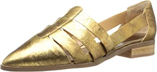 Chinese Laundry Women's Outcast, Gold Leather, 9.5