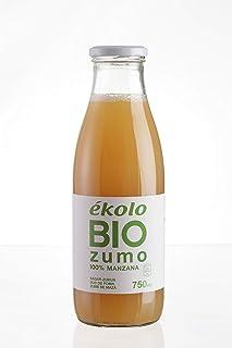 comprar comparacion ÉKOLO Zumo de Manzana Ecológico, 100% Exprimido, 6 Botellas x 750 ml, 4500 ml