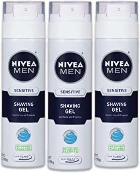 3-Pack Nivea for Men Sensitive Shaving Gel (7 oz)