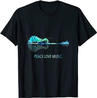 Best peace love music shirt Reviews