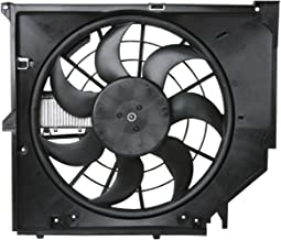 URO Parts 17117561757 Auxiliary Cooling Fan Assembly, w/Frame