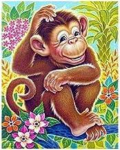 Jiedoud Wooden Funny Jigsaw Puzzles Juegos Cartoon Animal Monkey DIY Kit Modern Home Decor Boys Girls para Adolescentes y Adultos Decoraciones únicas para el hogar y 1000 Piezas