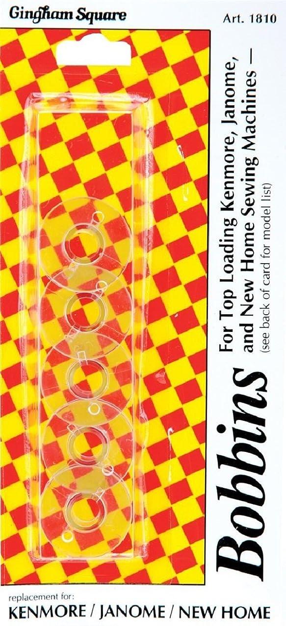 Euro-Notions Plastic Machine Bobbins-5/Pkg