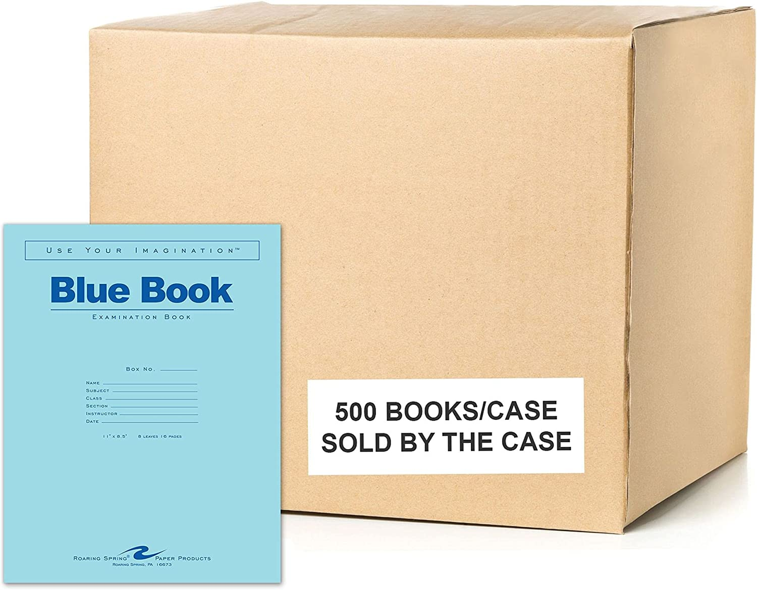 Roaring Spring Test Blue gift Exam Book Total Case Regular discount 500 1 Rul Wide