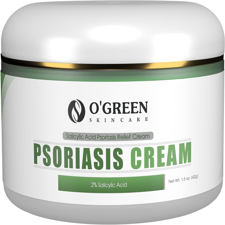 OGREEN Eczema Psoriasis Cream - Irritated Natural Dry for Elegant Max 71% OFF Skin