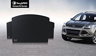 ToughPRO Cargo/Trunk Mat Compatible with Ford Escape - All Weather - Heavy Duty - (Made in USA) - Black Rubber - 2013, 2014, 2015, 2016, 2017, 2018, 2019