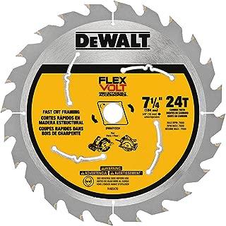 DEWALT DWAFV3724 Flexvolt 24T Circular Saw Blade, 7-1/4
