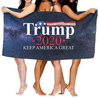 Trump 2020 USA Keep America Great Fashion Over-Sized Beach Bath Towels