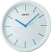 Seiko Plastic Case Wall Clock (30 cm x 30 cm x 4.5 cm, Black)
