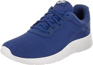 Nike Men s Tanjun Running Sneaker Gym Blue Gym Blue-Solar Red Size 11 940526dff1388