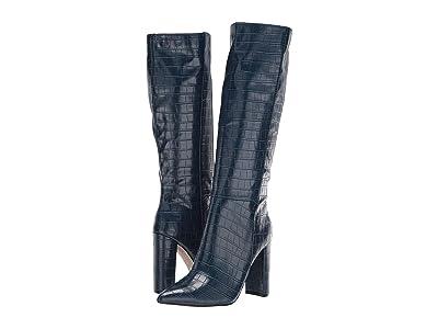 Steve Madden Triumph Boot (Blue Croco) Women