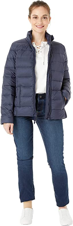 Quilted Jacket with Magnetic Zipper
