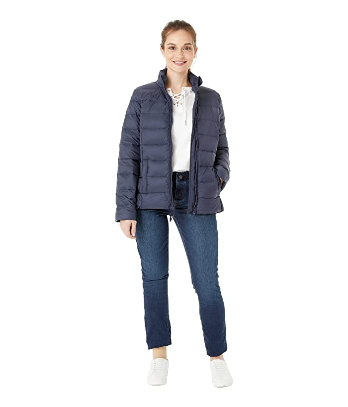 Tommy Hilfiger Adaptive Quilted Jacket with Magnetic Zipper (Masters Navy) Women