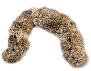 bajo precio 915dc 9d6f3 Amazon.es: piel conejo - Bufandas, estolas y fulares ...