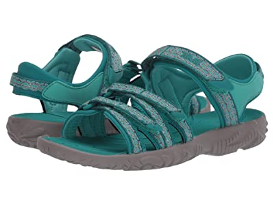 Teva Kids Tirra (Little Kid/Big Kid) (Camino Metallic Teal Blue) Kid