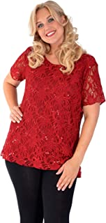 New Womens Plus Size Top Ladies Stripe Floral Print T-Shirt Tunic Long Nouvelle