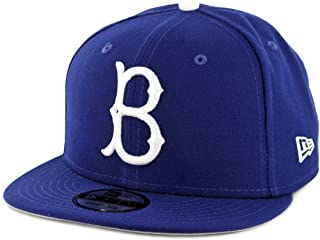 95908453185 New Era 9Fifty Brooklyn Dodgers Basic Snapback Hat (Royal Blue) Men s MLB  Cap
