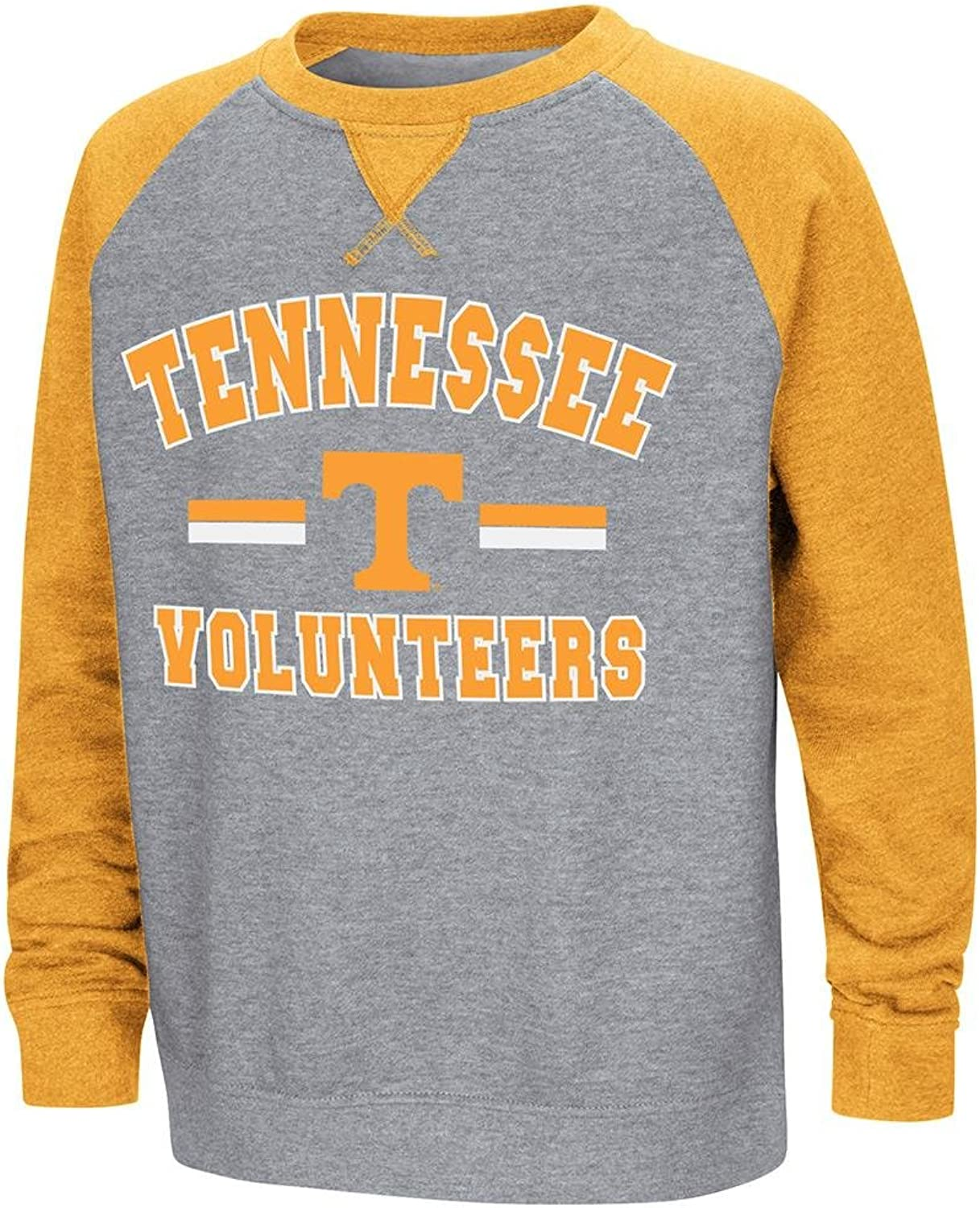 Youth Tennessee Volunteers Fleece Crewneck Sweatshirt