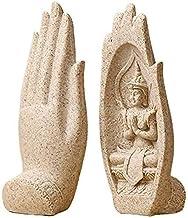 Desktop sculptuur Boeddha decoratieve beelden Hars sculpturen Thaise boeddhistische beeldjes Feng Shui Home Zen decoratie ...