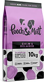 Pooch & Mutt - Calm & Relaxed, Complete Dry Dog Food (Grain Free), Turkey and Sweet Potato, 10kg